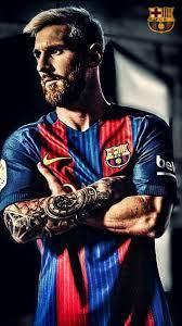 Lionel Messi Barcelona iPhone 8 Wallpaper