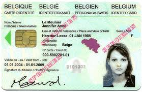 Identities Identity Card Project - Belgium The