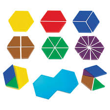 Pattern Block Fractions Best Design