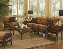 sunroom wicker furniture. Lovely Decoration Wicker Rattan Living Room Furniture Mauna Loa Sunroom Set  And Individual Pieces Spice Island By Yesteryear Sunroom Wicker Furniture E