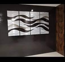 fusion metal large wall art