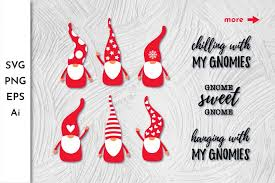 ✓ free for commercial use ✓ high quality images. Valentine S Gnome Svg Gnome Bundle Gnome Quotes Svg 928762 Illustrations Design Bundles