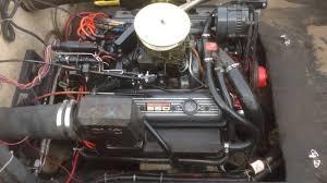 305 5.0L OMC COBRA MARINE ENGINE 2 - YouTube