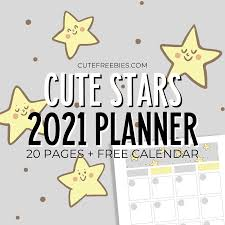Our stars coloring pages can help you express your artistic side. 2021 Cute Stars Yellow And Gray Planner Cute Freebies For You