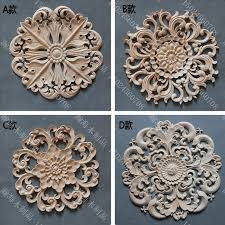 wood furniture appliques. Circle Door Decoration Applique Fashion Furniture Cabinet Kidney Wood Carved-in Statues \u0026 Sculptures From Home Garden On Aliexpress.com | Alibaba Appliques P
