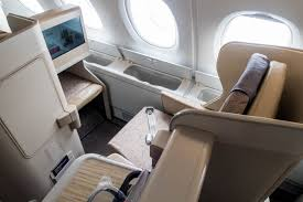 Airbus A380 Seating Chart Asiana Review Asiana Airlines A380 800 Business Class From Tokyo