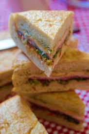 picnic basket pressed sandwiches recipe