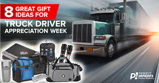 gift ideas for national truck driver appreciation week