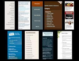 Best Sidebar Designs Task 3 Design Project Tom Taylor