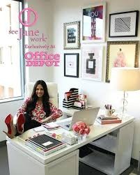 decorate office space work. Work Office Decorating Ideas The Sorority Secrets Workspace Chic With Depot See Picks A . Decorate Space C