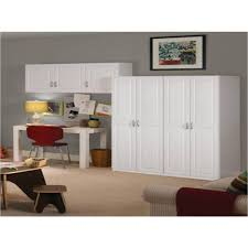 classy home decoration ideas with closetmaid white cabinet wall in gray painted and 3