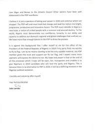 Breaking: Sule Lamido Declares Interest In 2019 Presidential Race + ...