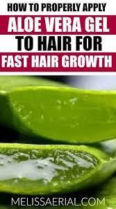 aloe vera gel for hair growth and how