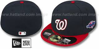 Nationals 2012 Playoff Alternate Hats By New Era