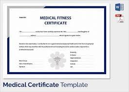 Health Certificate Sample Sample Medical Certificate 27