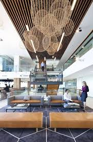 corporate office design ideas corporate lobby. beautiful ideas interesting use natural materials and texture by wan interiors offices commercial aecom brisbane workplace lobby interioroffice  for corporate office design ideas