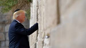 Image result for President trump at the wailing wall