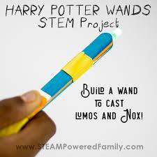 harry potter wands stem project use