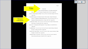 Mla Tutorial 3 Works Cited Page Formatting
