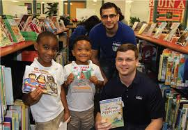 kpmg dallas sends davis elementary school students home with new books dallas independent school district salary schedule