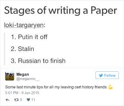 memories you ll have if you studied leaving cert history this accurately describes your process when it came to writing essays about russian history