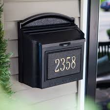 residential mailboxes wall mount. Pool Residential Mailboxes Wall Mount B