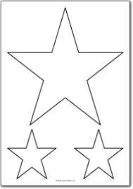 printable star 5 pointed star shape free printables free printable shape