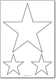 printable star 5 pointed star shape free printables free printable shape