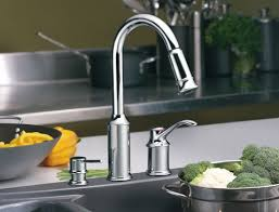 Best View of Moen Pull Out Kitchen Sink Faucet
