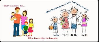 Топик моя семья или my family