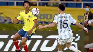 Colombia vs. Argentina - Match Report ...
