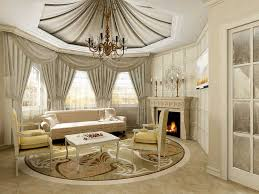 classy home furniture. Decoration: Alluring Living Room With Classy Home Decor Fabric Curtain Also Soft Sofa Furniture R