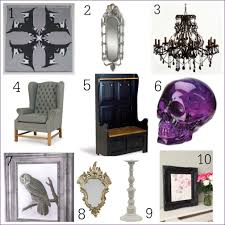 gothic inspired furniture. Diy Gothic Home Decor The Dark Side Inspired Accessories On Goth D Furniture