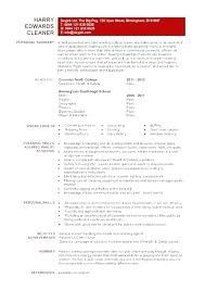 House Cleaner Job Cleaning Job Resume Browse Free Sample For House Cleaner Description