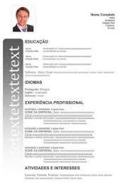 Exemplo De Curriculo