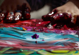 diy non toxic finger paint recipes so easy a kid could do it