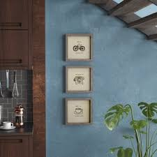 morning news 3 piece framed painting print set on always forever inspirational reclaimed wood wall art with inspirational framed art you ll love wayfair