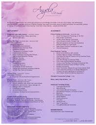 Entry Level Esthetician Resume Aesthetic Resume Beauty Salon Pinterest 21