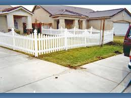 vinyl picket fence front yard.  Fence Vinyl Picket Fencing With U201cswoopsu201d Is One Option For In Your Front  Yard  And Picket Fence Front Yard