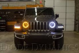 Jeep Jl Led Lights Now Available Hd Led Halo Kit For The 2018 2019 Jeep Jl