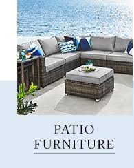 thebay furniture. Interesting Furniture Wicker Patio Set With Matching Arm Chair Cushiontop Ottoman And Side  Table At  Throughout Thebay Furniture