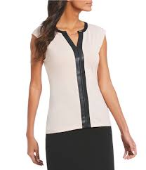 womens leather women s tops