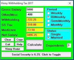 Calculate Monthly Paycheck Paycheck Tax Calculator Ohio Hashtag Bg