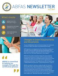 ABFAS Fall 2017 Newsletter by ABFAS - issuu