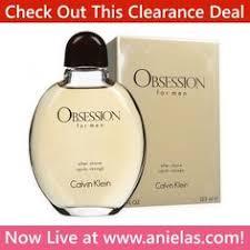 <b>Calvin Klein Obsession</b> for Men Aftershave Splash - Limited Offer ...