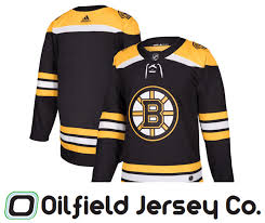 Adidas Home Co Authentic Jersey ⋆ Oilfield Bruins Boston