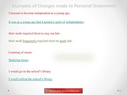 Music Personal Statement Personal Statement Music Omarbay Brianstern Co