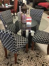 5 pc round glass table set for in fountain valley ca