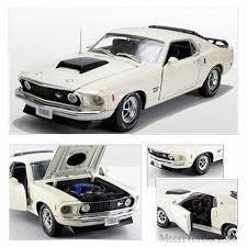 1969 Ford Mustang Boss 429, Creamy White - Phoenix 18648 - 1/24 ...