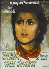"Roma, Cidade Aberta"", de Roberto Rossellini de 1945: Cartazes e Fotografias"